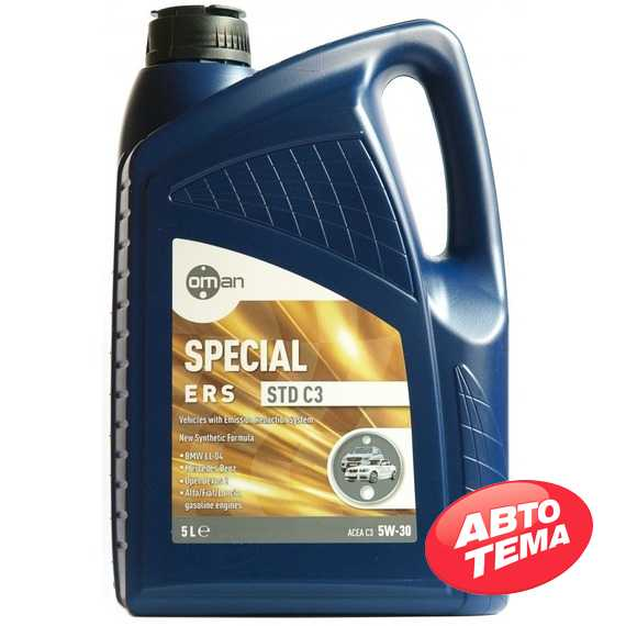 Моторное масло OMAN Special ERS STD C3 - Интернет магазин резины и автотоваров Autotema.ua