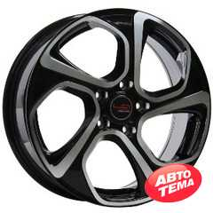 Купить REPLICA LegeArtis Concept NS513 BKF R17 W6.5 PCD5x114.3 ET40 HUB66.1