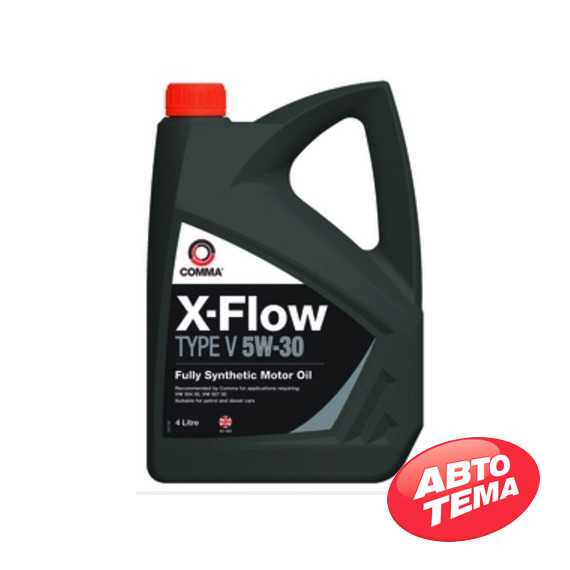 Моторное масло COMMA X-FLOW TYPE V - Интернет магазин резины и автотоваров Autotema.ua