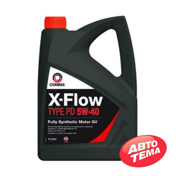 Моторное масло COMMA X-FLOW TYPE PD - Интернет магазин резины и автотоваров Autotema.ua