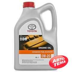 Моторное масло TOYOTA Engine Oil Advanced Fuel Economy - Интернет магазин резины и автотоваров Autotema.ua