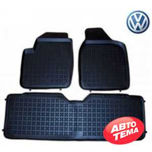 Купить Автоковрики REZAW-PLAST VW Sharan 1995-2010, 5 seats (front, middle) (3шт) 200103A