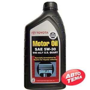Купить Моторное масло TOYOTA MOTOR OIL SN 5W-30 (0.946л)