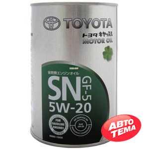 Купить Моторное масло TOYOTA MOTOR OIL SN 5W-20 GF-5 (1л)