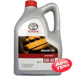 Купить Моторное масло TOYOTA MOTOR OIL SM/SN 5W-40 (5л)