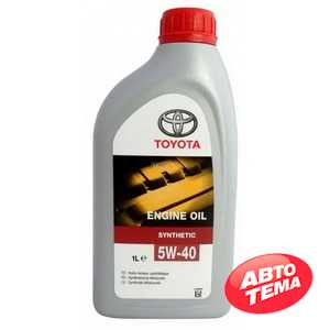 Купить Моторное масло TOYOTA MOTOR OIL SM/SN 5W-40 (1л)
