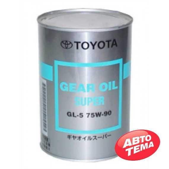 Купить Трансмиссионное масло TOYOTA GEAR OIL SUPER 75W-90 GL-5 (1л)