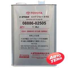 Купить Трансмиссионное масло TOYOTA CVT FE (4л)