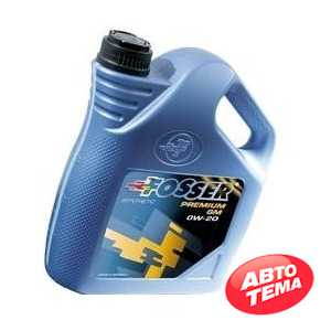Купить Моторное масло FOSSER Premium GM 0W-20 (5л)