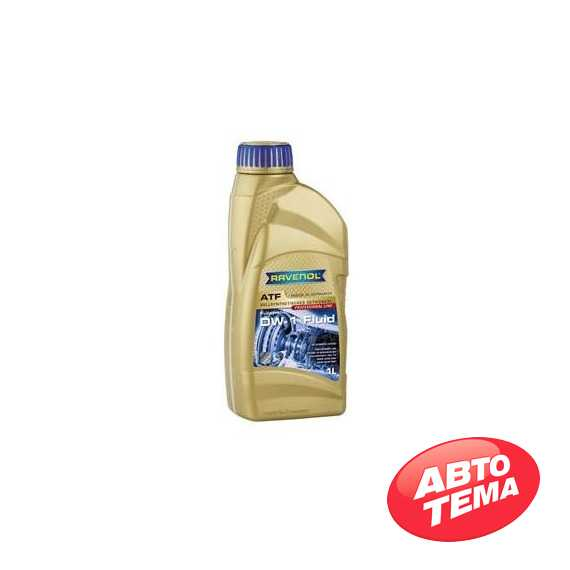 Трансмиссионное масло RAVENOL ATF - Интернет магазин резины и автотоваров Autotema.ua