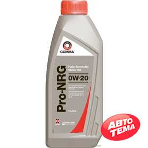 Купить Моторное масло COMMA PRO-NRG 0W-20 (1л)