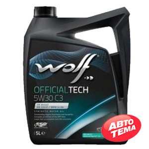 Купить Моторное масло WOLF OfficialTech 5W-30 C3 (5л)