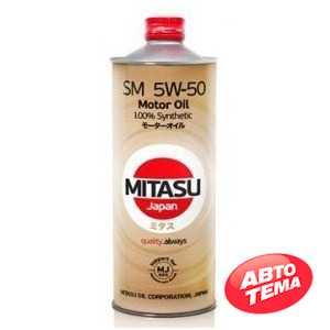 Купить Моторное масло MITASU MOTOR OIL SM 5W-50 (1л)