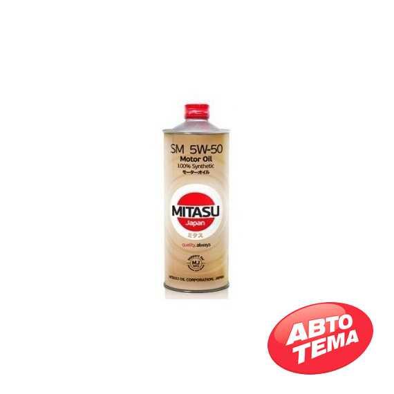 Моторное масло MITASU MOTOR OIL - Интернет магазин резины и автотоваров Autotema.ua