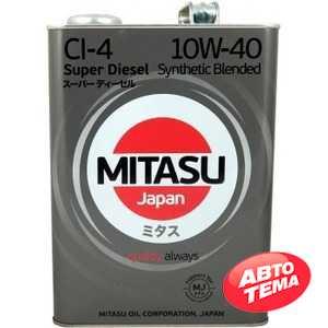 Купить Моторное масло MITASU SUPER DIESEL CI-4 10W-40 (4л)