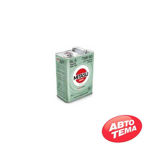Трансмиссионное масло MITASU GEAR OIL - Интернет магазин резины и автотоваров Autotema.ua