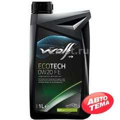 Моторное масло WOLF EcoTech - Интернет магазин резины и автотоваров Autotema.ua