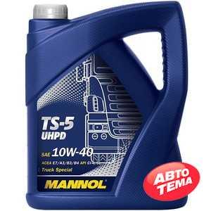 Купить Моторное масло MANNOL TS-5 TRUCK SPECIAL UHPD 10W-40 (5л)
