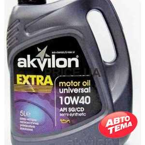 Купить Моторное масло Akvilon Extra 10W-40 (5л)