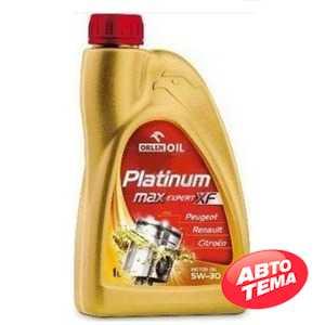 Купить Моторное масло ORLEN PLATINUM MAX EXPERT XF 5W-30 SM/CF (1л)