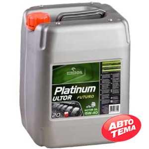 Купить Моторное масло ORLEN Platinum ULTOR Futuro CJ-4 15W-40 (20л)