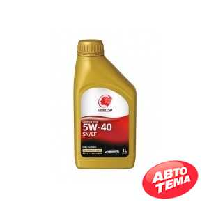 Купить Моторное масло IDEMITSU FULLY-SYNTHETIC SN/CF 5W-40 (1л)