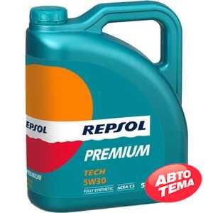 Купить Моторное масло REPSOL PREMIUM TECH 5W-30 (5л)