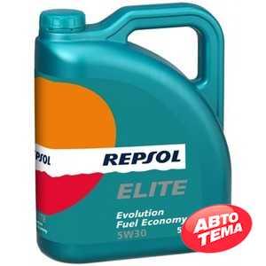 Купить Моторное масло REPSOL ELITE EVOLUTION FUEL ECONOMY 5W-30 (5л)