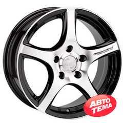 Купить RW (RACING WHEELS) H531 BKFP R15 W6.5 PCD5x100 ET35 DIA67.1