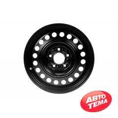 Купить Легковой диск STEEL KAP Black R16 W6.5 PCD5x114.3 ET45 DIA64.1