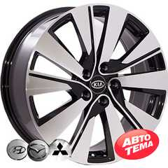 Купить REPLICA KIA FE136 BMF R17 W6.5 PCD5x114.3 ET40 DIA67.1