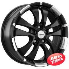 Легковой диск RONAL R59 Jet Black Matt-Rim Lip Diamond Cut - Интернет магазин резины и автотоваров Autotema.ua