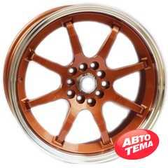Легковой диск ALEXRIMS AFC-2 Bronze plus polished rim - Интернет магазин резины и автотоваров Autotema.ua