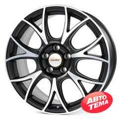 Легковой диск SPEEDLINE SL5 Vincitore Jetblack-matt-diamond cut - Интернет магазин резины и автотоваров Autotema.ua