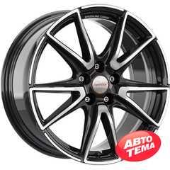 Легковой диск SPEEDLINE SL6 Vettore Jet black-front diamond cut - Интернет магазин резины и автотоваров Autotema.ua