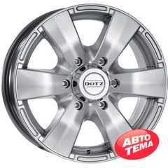Легковой диск DOTZ Luxor Silver - Интернет магазин резины и автотоваров Autotema.ua