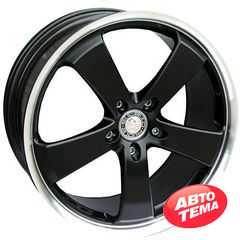 Купить Легковой диск STILAUTO Futura Black R17 W7.5 PCD5x112 ET37 DIA66.5