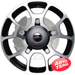 Легковой диск PDW Frenzy Mystic Gray Machine Face - Интернет магазин резины и автотоваров Autotema.ua