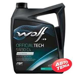 Купить Моторное масло WOLF OfficialTech 5W-30 C4 (5л)