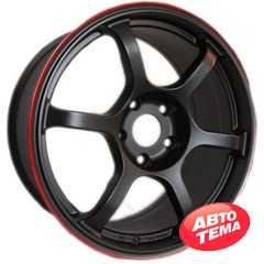 Легковой диск ROTA Boost Black Red Lip - Интернет магазин резины и автотоваров Autotema.ua