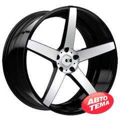 Купить Легковой диск XO LUXURY Miami BRS/MTBK R20 W10 PCD5x112 ET42 DIA66.6