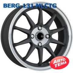 Легковой диск BERG 168 MLCTG - Интернет магазин резины и автотоваров Autotema.ua