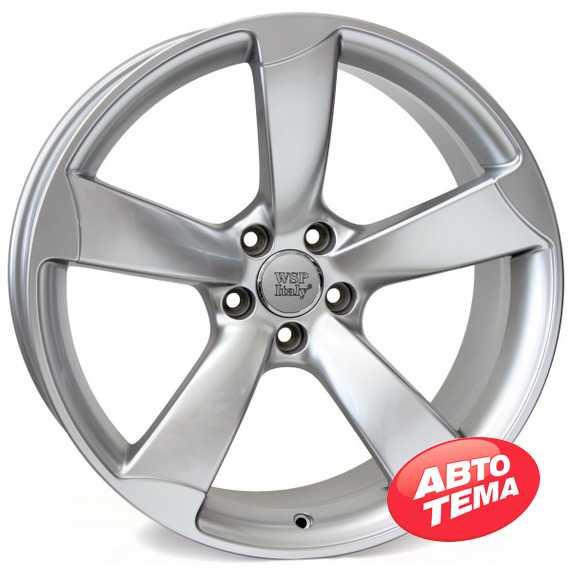 Купить WSP ITALY GIASONE W567 HYPER SILVER R18 W8 PCD5x112 ET39 DIA66,6