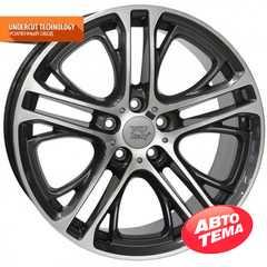 Легковой диск WSP ITALY X3 XENIA W677 BM20 DIAMOND BLACK POLISHED - Интернет магазин резины и автотоваров Autotema.ua