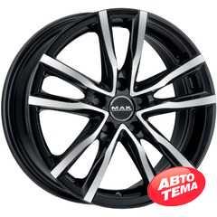 Купить MAK Milano Black Mirror R16 W6.5 PCD4x108 ET40 DIA63.4