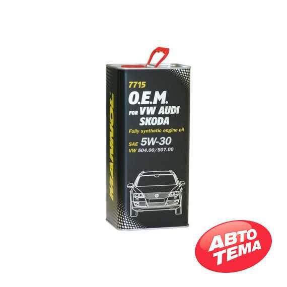 Моторное масло MANNOL O.E.M. 7706 - Интернет магазин резины и автотоваров Autotema.ua