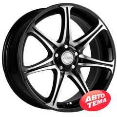 Купить RW (RACING WHEELS) H-134 BK-F/P R16 W7 PCD5x112 ET46 DIA57.1