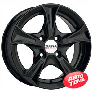 Купить DISLA Luxury 606 B R15 W6.5 PCD4x114 ET35 DIA67.1