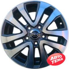 Купить Легковой диск REPLICA TY5118 GMF R17 W8 PCD5x150 ET60 DIA110.6