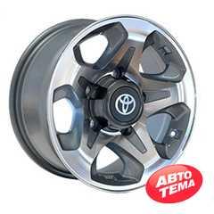 Купить Легковой диск REPLICA TY720 GMF R16 W7 PCD5x150 ET2 DIA110.1